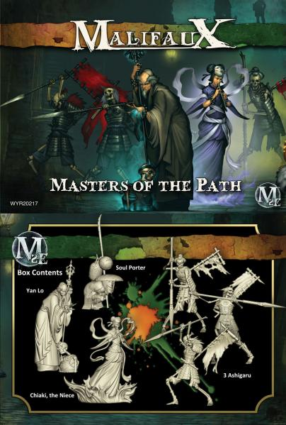 Malifaux: Resurrectionists: Masters of the Path