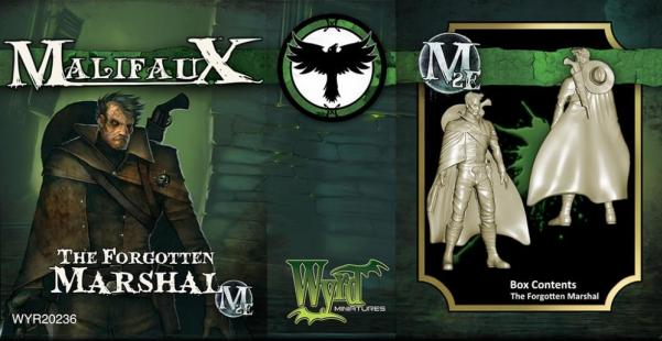 Malifaux: Resurrectionists: The Forgotten Marshal