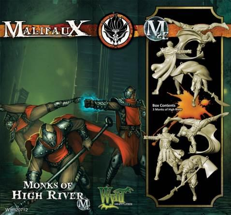 Malifaux: Ten Thunders: Monks of High River [SALE]
