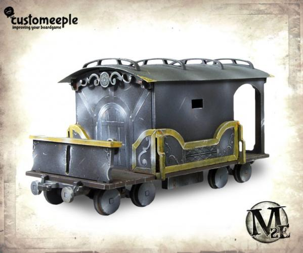 Malifaux: Train Wagon (Armoured)