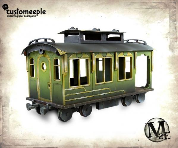 Malifaux: Train Wagon (Passenger)