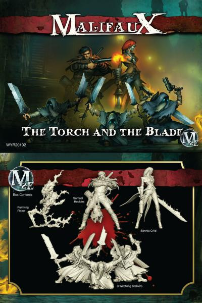 Malifaux: Guild: The Torch and the Blade
