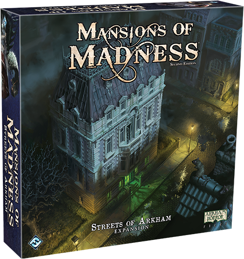 Mansions of Madness (2nd Edition): Streets of Arkham