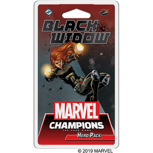 Marvel Champions: LCG: Black Widow Hero Pack