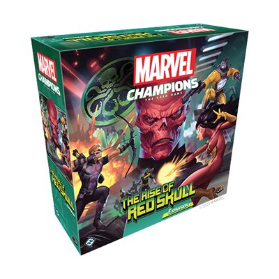 Marvel Champions: LCG: The Rise of Red Skull Expansion