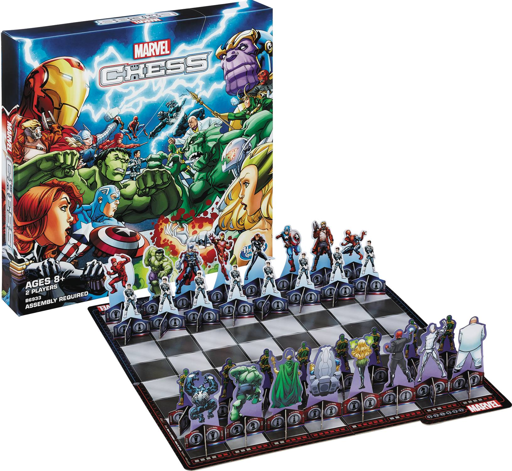 Marvel Chess Set