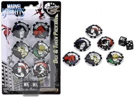 Marvel HeroClix: Avengers/Defenders War Dice & Token Pack