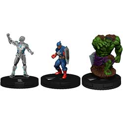 Marvel HeroClix: Captain America and Avengers - Booster