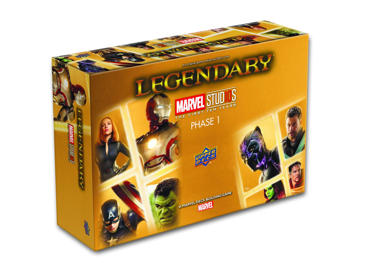 Marvel Legendary: Marvel Cinematic Universe 10th Anniversary [Damaged]