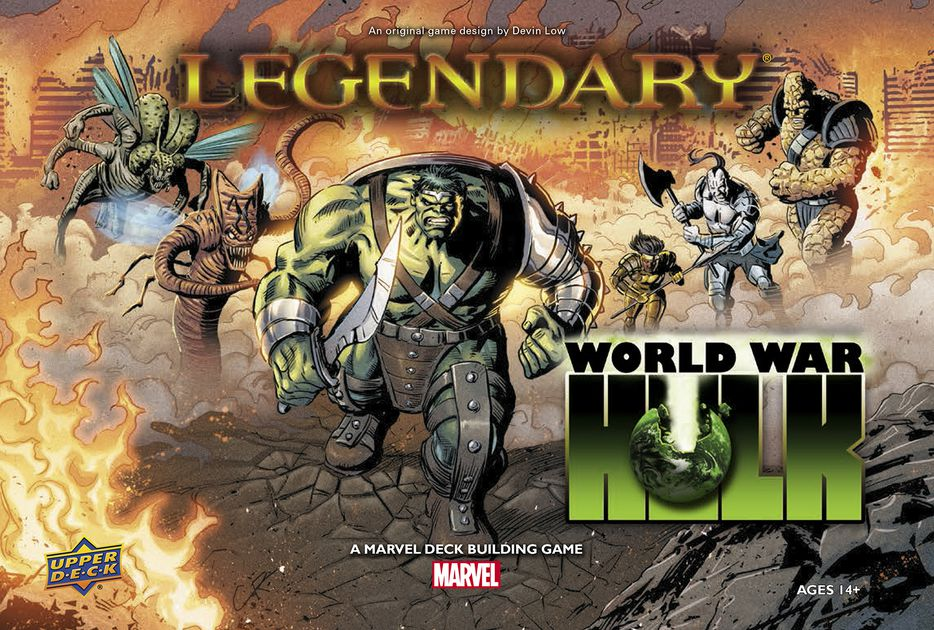 Marvel Legendary: WORLDWAR HULK [Damaged]