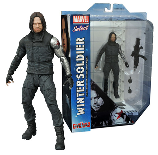 Marvel Select: Captain America Civil War- Winter Soldier