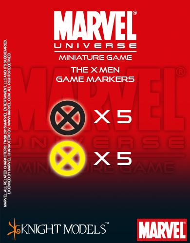 Marvel Universe Miniature Game 039: X-Men Markers