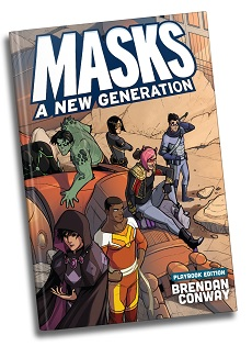Masks A New Generation: Playbook Edition (HC)