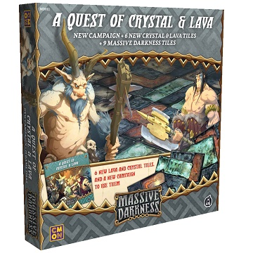 Massive Darkness: A Quest of Crystal and Lava