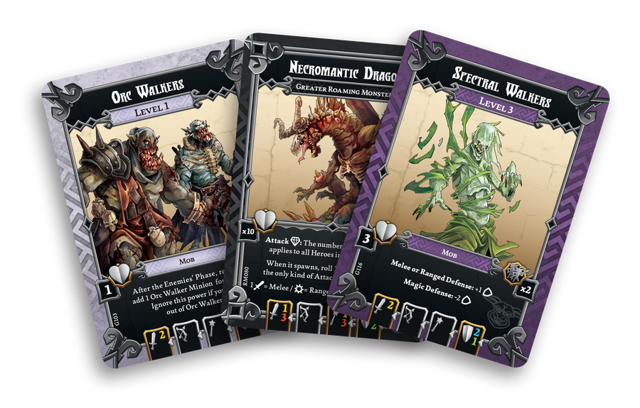 Massive Darkness: Crossover Cards From Zombicide Green Horde And Expansions