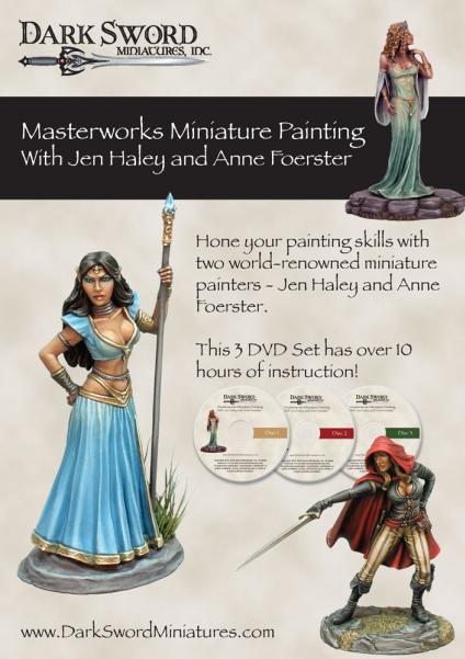 Masterworks Miniature Painting with Jen Haley & Anne Foerster