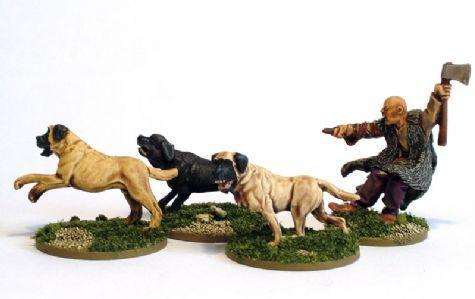 Hail Caesar: Celts: Mastiff Pack
