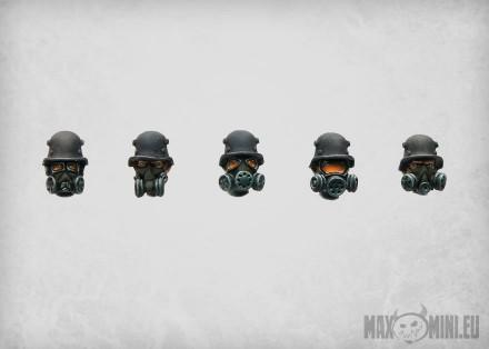 MaxMini: Conversion Bitz: Neoreich Trenchers Heads (10)