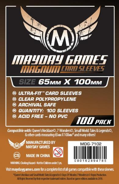 Mayday: Magnum Ultra-Fit Copper Sleeves: 65mm x 100mm