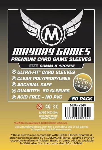 Mayday: Premium Dixit Sleeves 80mm X 120mm (50ct)