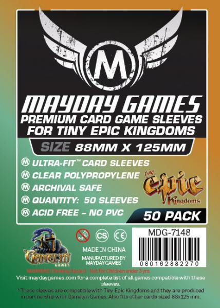 Mayday: Tiny Epic Kingdoms Premium Sleeves