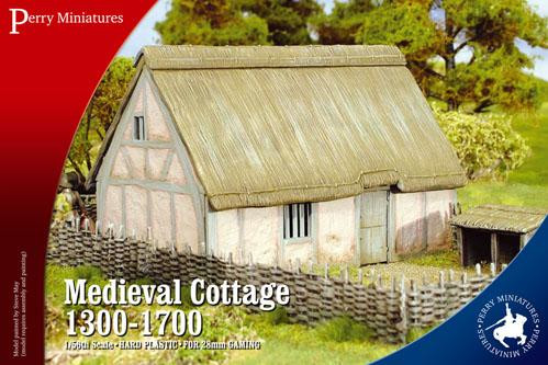 Perry: 28mm Historical: Medieval Cottage 1300-1700