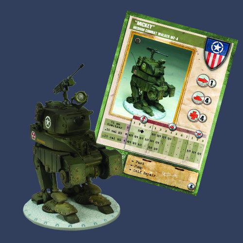 "Dust Tactics Premium Edition: Allied: Medium Assault Walker ""Mickey"""