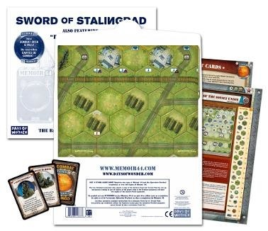Memoir 44: Battlemap Volume 3: Sword of Stalingrad