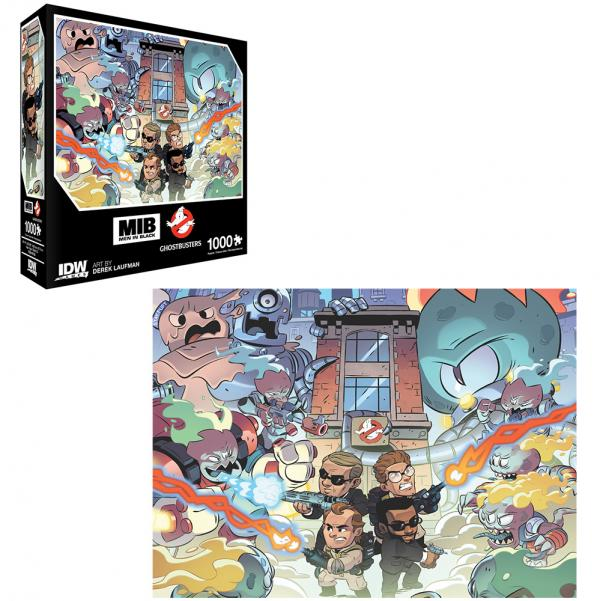 Men in Black & Ghostbusters 1000 PC Puzzle