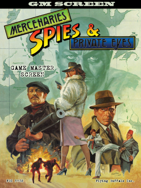 Mercenaries Spies & Private Eyes: GM Screen