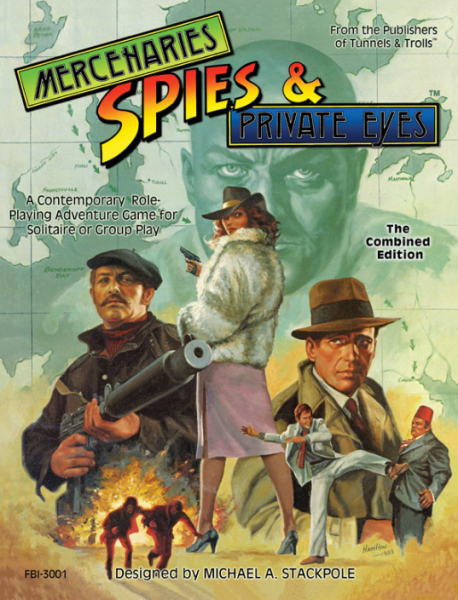 Mercenaries Spies & Private Eyes: The Combined Edition