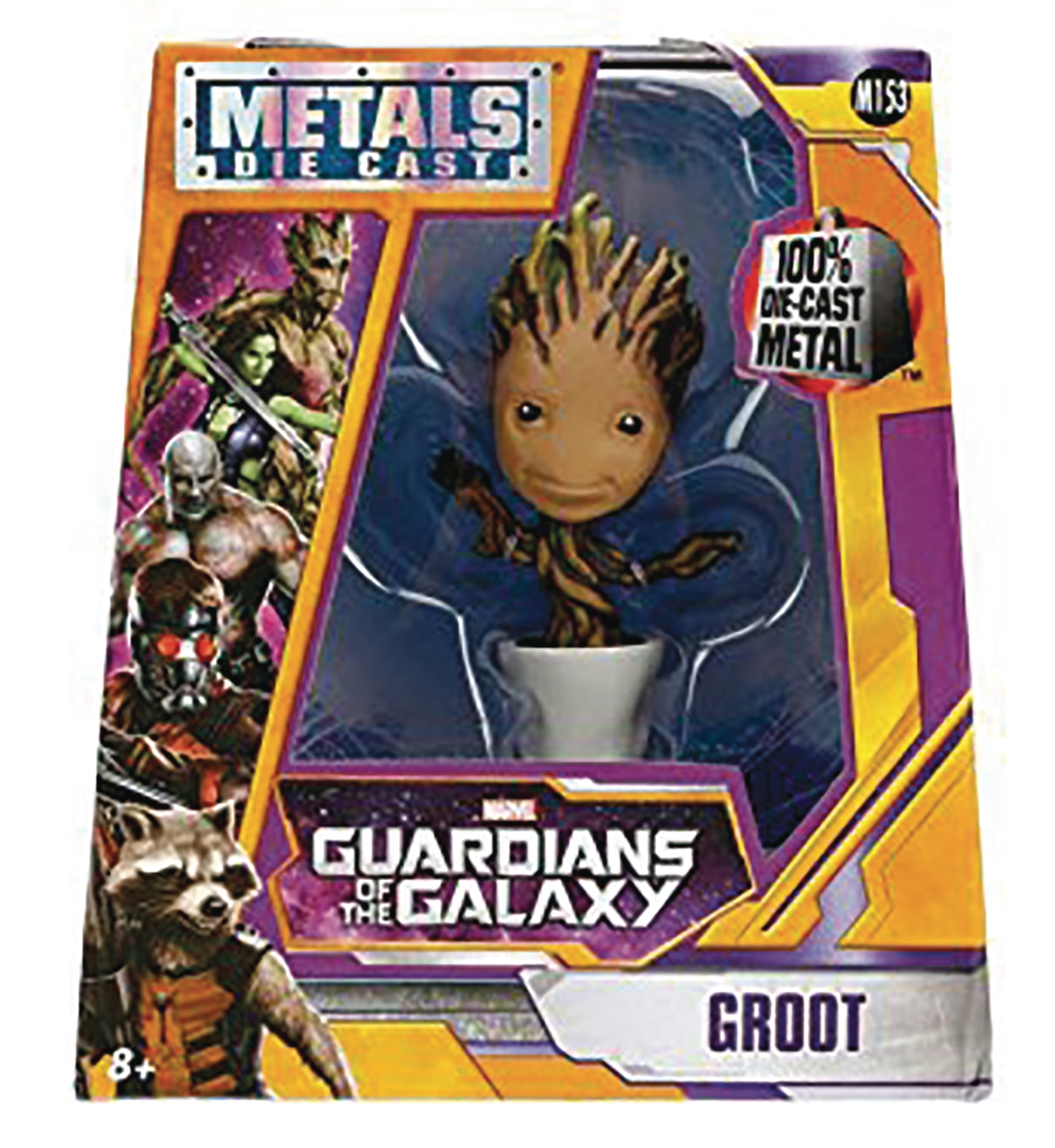 Metals Die Cast- Marvel: Guardians of the Galaxy- Potted Groot