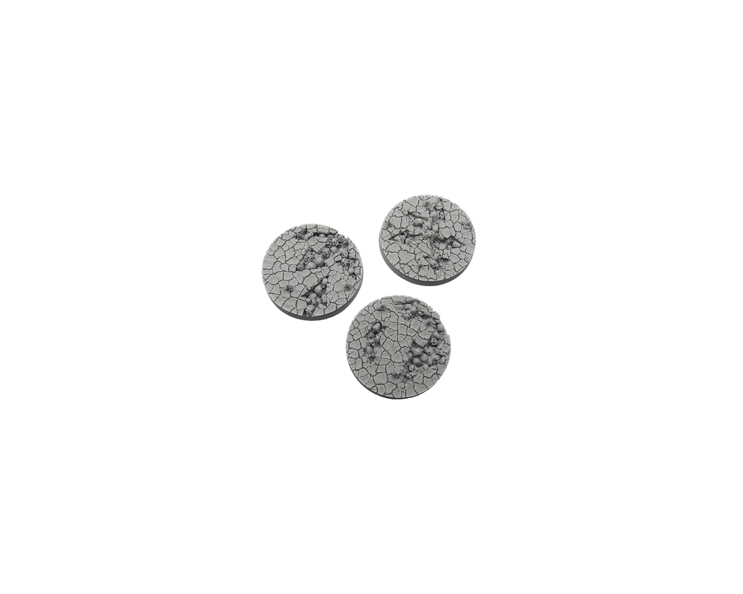 Micro Art Studio: Chaos Waste Bases: Round 50mm (2)