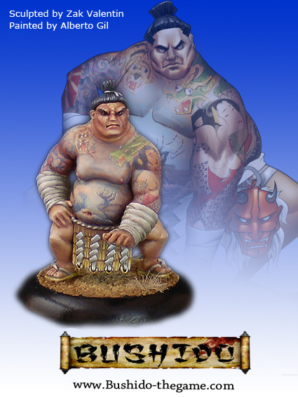 Bushido: The Prefecture of Ryu: Mikio, Sumo Wrestler