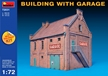 Miniart 1/72 Multi Colored Kit: Building with Garage - MA103036 [4820041103036]