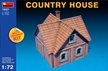 Miniart 1/72 Multi Colored Kit: Country House - MA102770 [4820041102770]