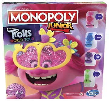 Monopoly Junior: Trolls 2 - World Tour