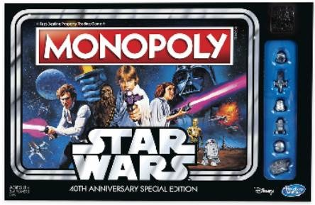 Monopoly: Star Wars Edition (40th Anniversary Edition)