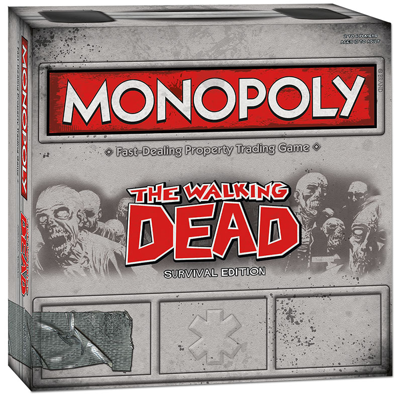 Monopoly: The Walking Dead Survival Edition (Damaged)