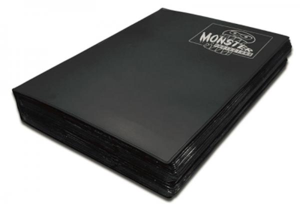 Monster Protectors: 18 Pocket Mega Binder- Black