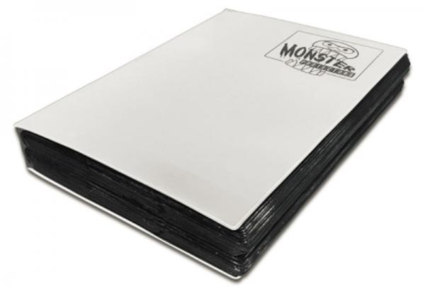 Monster Protectors: 18 Pocket Mega Binder- White