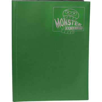 Monster Protectors: 9 Pocket Binder: Matte Forest