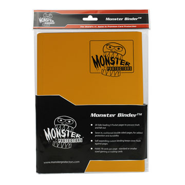 Monster Protectors: 9 Pocket Binder: Matte Sunflower