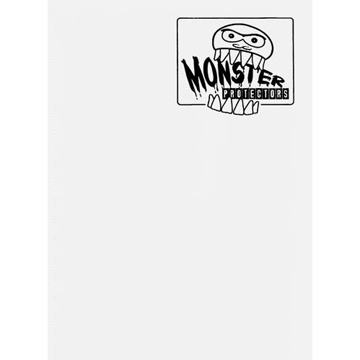 Monster Protectors: 9 Pocket Binder: White