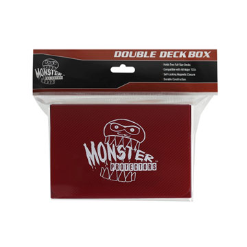 Monster Protectors: Double Deck Box: Red