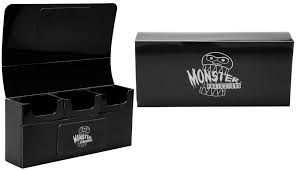 Monster Protectors: Triple Deck Box: Black