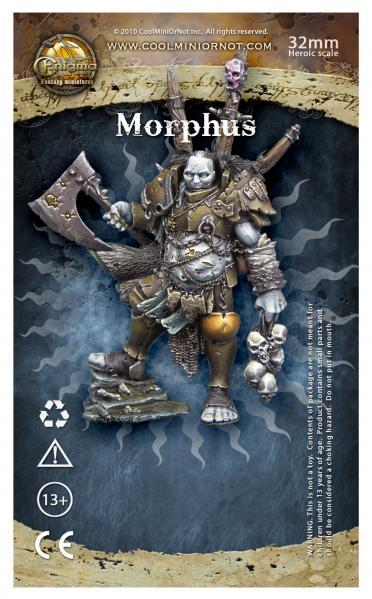 Enigma Miniatures: Morphus, Chaos Warlord