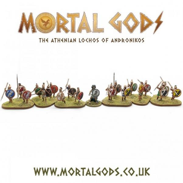 Mortal Gods: Athenian Lochos Expansion Box Set