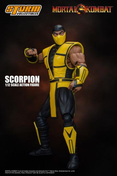 Mortal Kombat 3: Scorpion (Storm Collectibles 1:12 Action Figure)