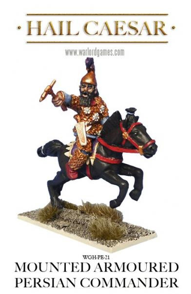 Hail Caesar: Greeks: Mounted Armoured Persian Commander
